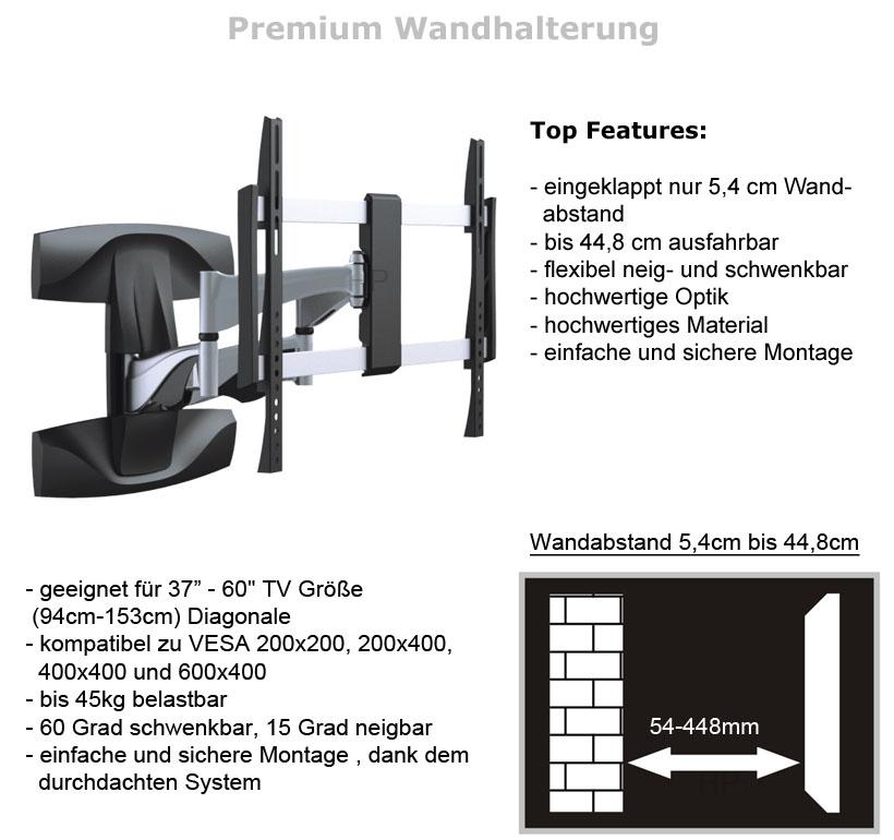 Wandhalterung f r samsung ue55d8090 ue55d7090 ue55c7700 ue55d6200 ue55d6500 ue55 ebay - Wandhalterung fur tv gerate ...